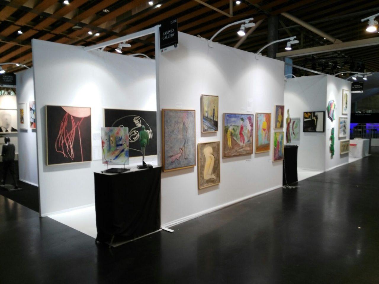 Paolo Ambrosio Arkivio Galley, Art Up -Lille